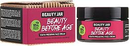Düfte, Parfümerie und Kosmetik Anti-Aging Gesichtscreme mit Tigergras und Avocadoöl - Beauty Jar Beauty Before Age Youth Preserve Face Cream