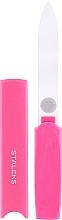Düfte, Parfümerie und Kosmetik Kristall-Nagelfeile FBC-13-128 rosa - Staleks
