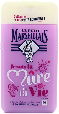 Duschgel Brombeere - Le Petit Marseillais Blackberry Shower Gel — Bild N1