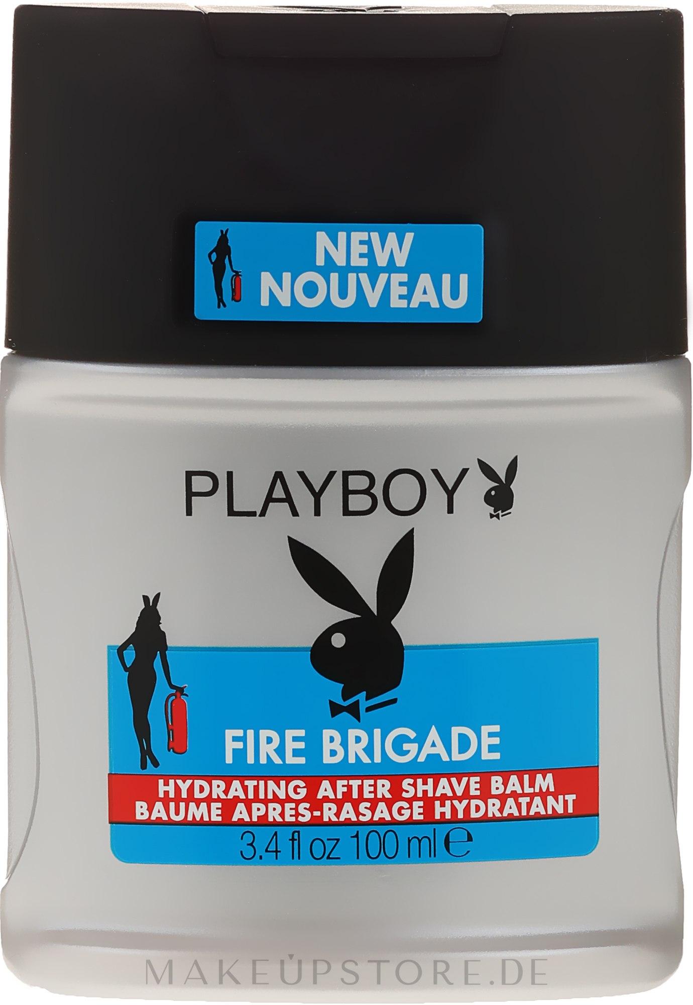 After Shave Balsam - Playboy Fire Brigade After Shave Balm — Bild 100 ml