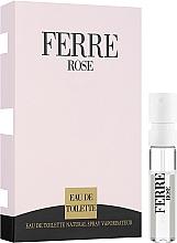 Düfte, Parfümerie und Kosmetik Gianfranco Ferre Ferre Rose - Eau de Toilette 1.5ml (Probe)