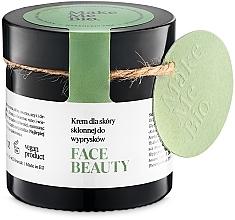 Düfte, Parfümerie und Kosmetik Leichte Tagescreme für Problemhaut - Make Me BIO Beautiful Face