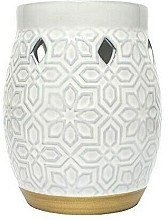 Düfte, Parfümerie und Kosmetik Aromalampe - Yankee Candle Addison Patterned Ceramic Wax Melt Warmer