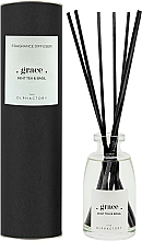 Düfte, Parfümerie und Kosmetik Raumerfrischer Black Grace Mint Tea & Basil - Ambientair The Olphactory Black Grace Mint Tea & Basil