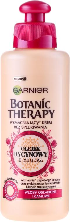 Haarcreme für schwaches Haar mit Rizinusöl und Mandel - Garnier Botanic Therapy — Bild N1