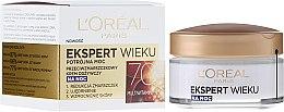 Düfte, Parfümerie und Kosmetik Anti-Falten Nachtcreme 70+ - L'Oreal Paris Age Specialist Night Cream 70+