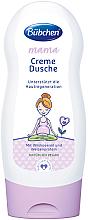 Düfte, Parfümerie und Kosmetik Hautregenerierende Duschcreme mit Wildrosenöl und Weizenprotein für Schwangere und Stillende - Bubchen