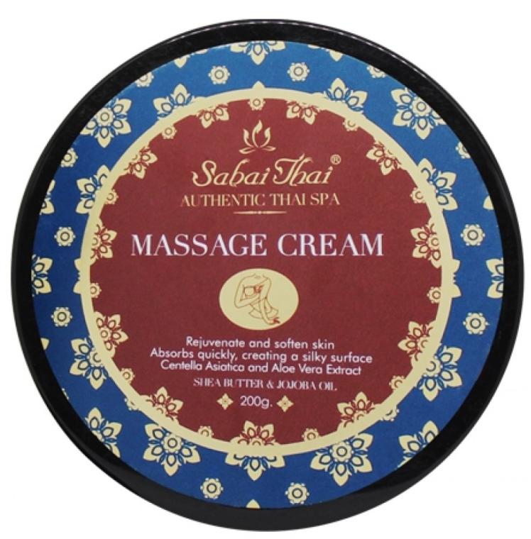 Massagecreme für den Körper mit Centella-Extrakt und Aloe Vera - Sabai Thai Jasmine Aroma Massage Cream — Bild N1