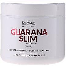 Düfte, Parfümerie und Kosmetik Anti-Cellulite Zuckerpeeling für den Körper - Farmona Professional Owocowy Raj