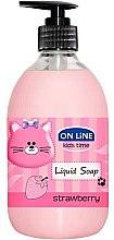 Düfte, Parfümerie und Kosmetik Flüssigseife Erdbeere - On Line Kids Time Liquid Soap Strawberry