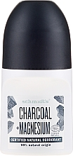 Düfte, Parfümerie und Kosmetik Natürliches Deo Roll-on - Schmidt's Carbon + Magnesium Deo Roll-On
