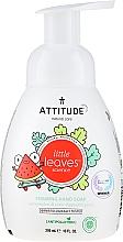 Düfte, Parfümerie und Kosmetik Schäumende Handseife für Kinder mit Wassermelone und Kokosnuss - Attitude Foaming Hand Soap Watermelon & Coco