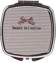 Düfte, Parfümerie und Kosmetik Kosmetischer Taschenspiegel quadratisch 85635 mit Streifen - Top Choice Beauty Collection Mirror