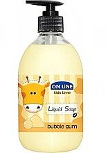 Düfte, Parfümerie und Kosmetik Flüssigseife mit Kaugummiduft für Kinder - On Line Kids Time Liquid Soap Bubble Gum