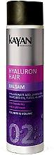 """Düfte, Parfümerie und Kosmetik Haarspülung """"Fullness & Volume"""" - Kayan Professional Hyaluron Hair Balsam"""