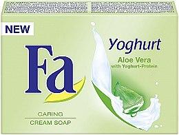 Pflegende Cremeseife mit Joghurt und Aloe Vera - Fa Yoghurt Aloe Vera Cream Soap — Bild N1