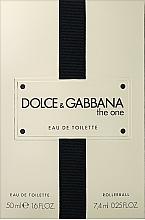 Düfte, Parfümerie und Kosmetik Dolce&Gabbana The One - Duftset (Eau de Toilette 50ml + Eau de Toilette Mini 7.4ml)