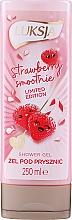 Düfte, Parfümerie und Kosmetik Duschgel Strawberry Smoothie - Luksja Coconut Strawberry Smoothie Shower Gel