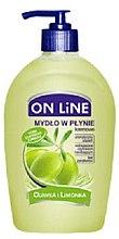 Düfte, Parfümerie und Kosmetik Flüssigseife mit Oliven und Zitrone - On Line Liquid Soap
