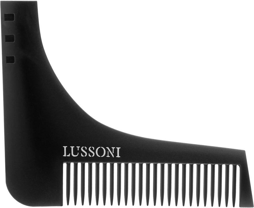 Bartkamm - Lussoni BC 600 Barber Comb — Bild N1