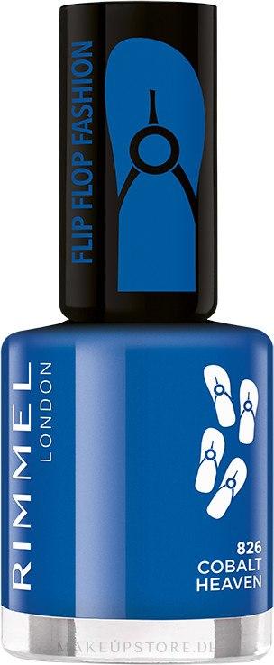 Nagellack - Rimmel Flip Flop Fashion — Bild 826 - Cobalt Heaven