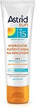 Düfte, Parfümerie und Kosmetik Feuchtigkeitsspendende Sonnenschutzcreme für das Gesicht SPF 15 - Astrid Sun Moisturizing Suncare Face Cream SPF 15