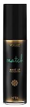 Düfte, Parfümerie und Kosmetik Feuchtigkeitsspendende und adaptive Foundation mit Hyaluronsäure - Vollare Match Make-up Foundation