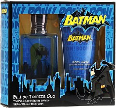 Düfte, Parfümerie und Kosmetik DC Comics Batman - Duftset (Eau de Toilette 75ml+Duschgel 150ml)