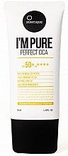 Düfte, Parfümerie und Kosmetik Sonnenschutzcreme für empfindliche Haut SPF 50+ - Suntique I'm Pure Perfect Cica SPF 50+ / PA +++