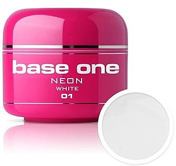 Gel Nagellack Neon - Silcare Base One UV Gel Color Neon — Bild N2