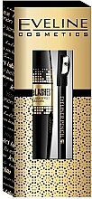 Düfte, Parfümerie und Kosmetik Makeup Set - Eveline Cosmetics (Wimperntusche/10ml + Augenkonturenstift/1,2g)