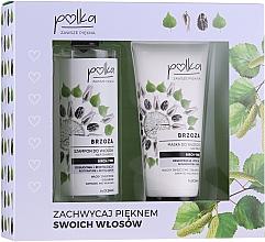 Düfte, Parfümerie und Kosmetik Haarpflegeset - Polka Birch Tree (Haarshampoo 400ml + Haarmaske 200ml)