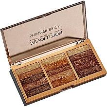 Düfte, Parfümerie und Kosmetik Schimmer-Palette - Makeup Revolution Shimmer Brick Palette