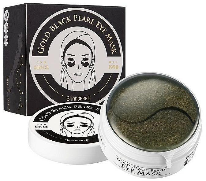 Hydrogel-Augenpatches mit schwarzem Perlenpulver - Shangpree Gold Hydrogel Eye Mask — Bild N2