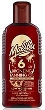Düfte, Parfümerie und Kosmetik Bräunungsöl mit Kokosnuss SPF 6 - Malibu Bronzing Tanning Oil SPF 6