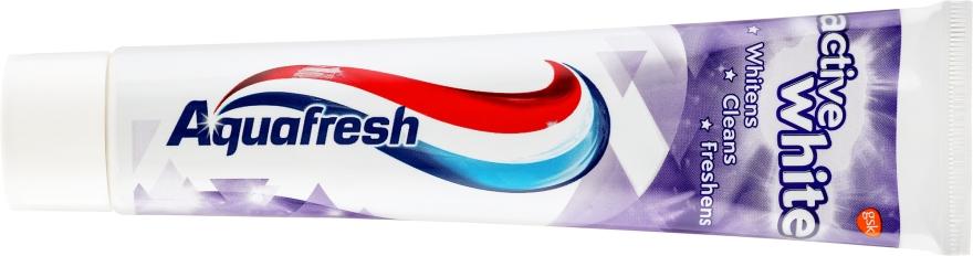 Aufhellende Zahnpasta Active White - Aquafresh Active White Toothpaste — Bild N2
