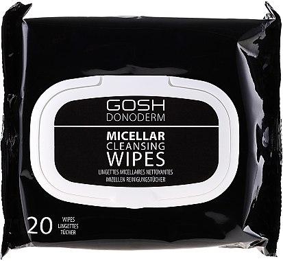 Make-up-Entfernungstücher mit Mizellenwasser - Gosh Donoderm Micellar Cleansing Wipes — Bild N1