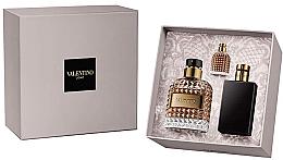 Düfte, Parfümerie und Kosmetik Valentino Valentino Uomo - Duftset (Eau de Toilette 100ml + Eau de Toilette 4ml + After Shave Balsam 100ml)