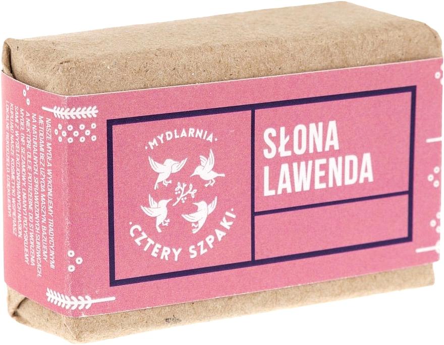Naturseife Lavendel - Cztery Szpaki Soap — Bild N1
