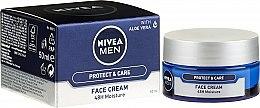 Düfte, Parfümerie und Kosmetik Schützende, pflegende und feuchtigkeitsspendende Gesichtscreme mit Aloe Vera - Nivea Men Originals Cream