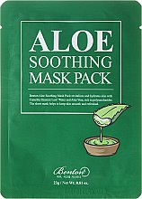 Düfte, Parfümerie und Kosmetik Feuchtigkeitsspendende Crememaske - Benton Aloe Soothing Mask Pack