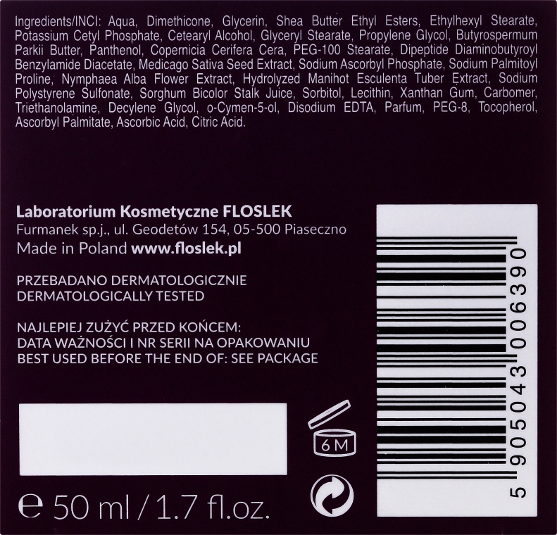 Pflegende Nachtcreme - FlosLek Skin Care Expert Snake Noirishing Night Cream — Bild N3