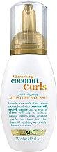 Düfte, Parfümerie und Kosmetik Feuchtigkeitsmousse für lockiges Haar mit Kokosöl und Honig - OGX Organix Quenching + Coconut Curls Frizz-Defying Moisture Mousse