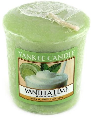 Votivkerze Vanilla Lime - Yankee Candle Vanilla Lime Sampler Votive