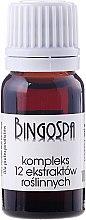 Düfte, Parfümerie und Kosmetik Komplex von 12 Pflanzenextrakten - BingoSpa Complex Of 12 Plant Extracts