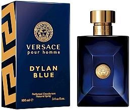 Düfte, Parfümerie und Kosmetik Deospray - Versace Pour Homme Dylan Blue