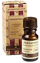 Düfte, Parfümerie und Kosmetik Ätherisches Bio Zitronengrasöl - Botanika Lemongrass Essential Oil