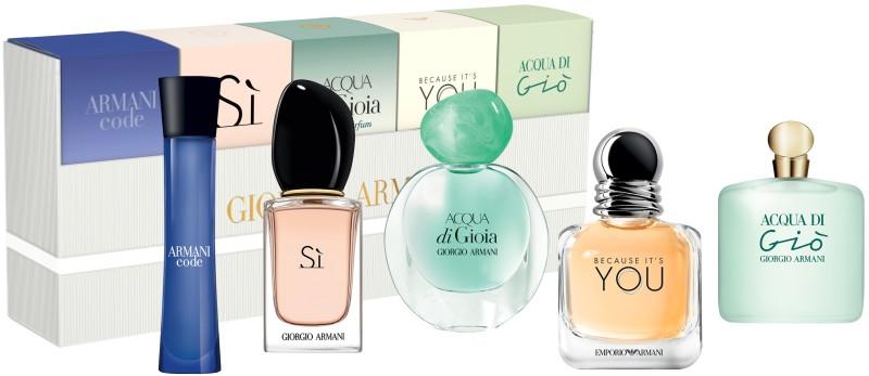 Giorgio Armani Women Miniature Set - Duftset (Eau de Parfum 2x7ml + Eau de Parfum 2x5ml + Eau de Toilette 3ml)