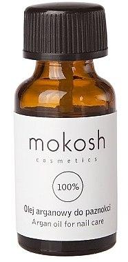 Arganöl für die Nägel - Mokosh Cosmetics Argan Oil For Nail Care — Bild N1
