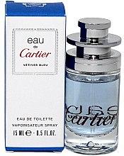 Düfte, Parfümerie und Kosmetik Eau de Cartier Vetiver Bleu - Eau de Toilette (Mini)